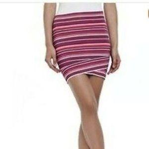 BCBG bandage multi-coloured skirt. L